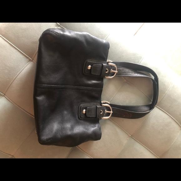 Coach purse. Real leather coach purse.